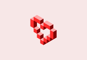 Create vector pixel heart inkscape preview