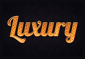 Luxury gold text effect thumbnail