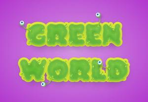 Greenslimytextpreview