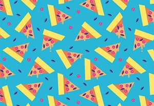 Pizza pattern small preview