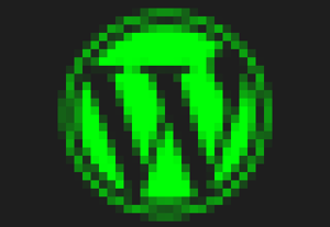 Hacked wordpress logo