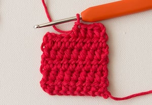 Wink half double crochet preview