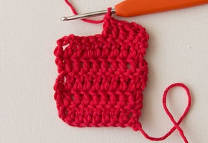 Wink double crochet preview