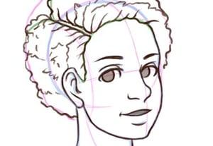 Hair thumbnails