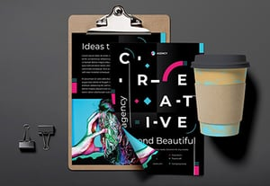 Creative agency flyer thumb