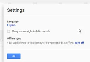 How to use google docs offline edit sync work