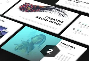 Presentation design tips pitch decks