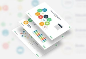 Powerpoint infographic template slides