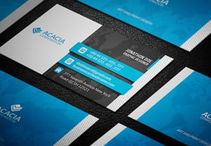Business card templates preview