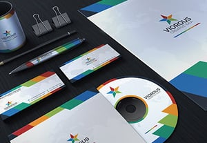Corporate brand identity package