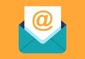 Professional email signature icon
