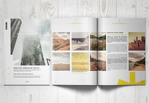 Magazine templates indesign designs