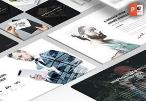 Creative presentation templates with innovative ideas