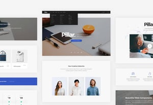 Choose your website template