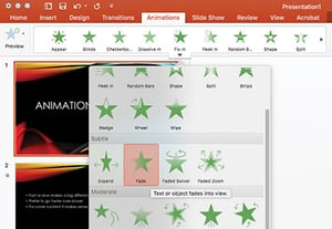 Powerpoint animation tips and tricks