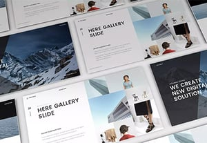 Awesome amazing powerpoint template designs