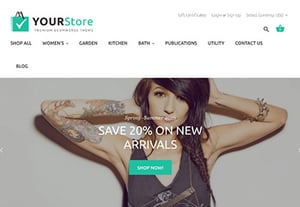 How to use bigcommerce theme design your online store