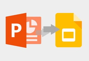 How to convert powerpoint to google slides format on import