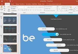 How to change powerpoint templates quickly