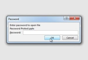 Password protect lock powerpoint ppt files