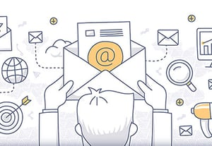 Different email types for marketing
