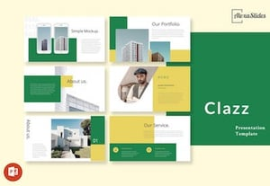 Clazz real estate powerpoint presentation slides xk6748%20copy