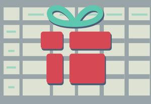 Spreadsheet gift