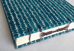 Create a combination coptic long stitch archival book