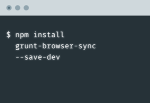 Cli brower sync