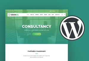 Consultancy wordpress theme pre