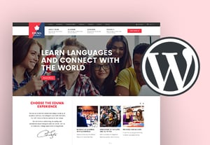 Education school website wordpress theme