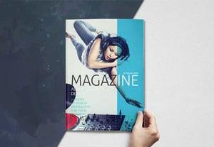 Magazine cover templatepre