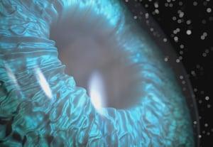Ae eye closeup retina