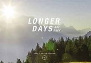 Longer days are back