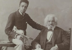 Frederick douglass and grandson