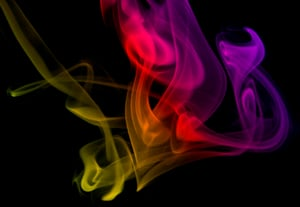 Smoke photography