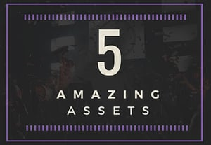 5 amazing assets event