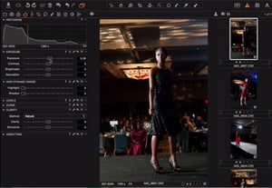 Capture one preview