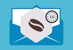 Coffee break email newsletter in mailchimp 400x277