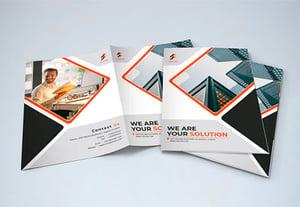 25 best free real estate brochure design templates