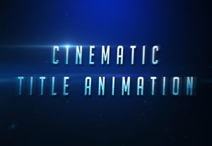 Cinematic text effect 400x277