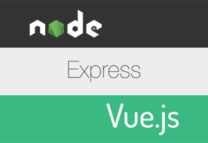 Web app with node express and vue 400x277