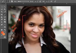 Portrait retouching 2