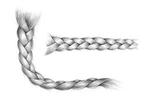 Preview drawing braid