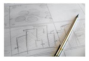 Business video storyboard