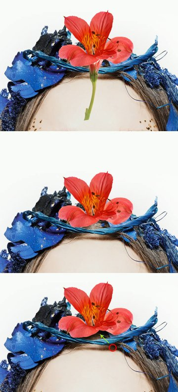 Adding a flower
