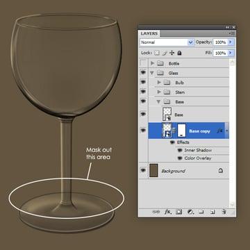 Create the Glass Stem