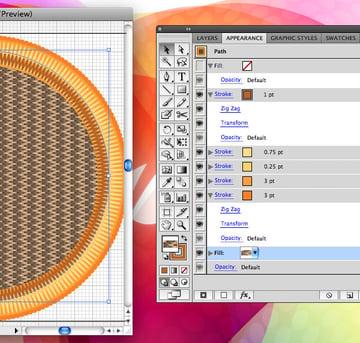 Add the Fabric Pattern