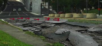 Create the Street Destruction