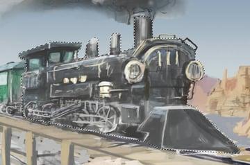 Create a Photo Realistic Train